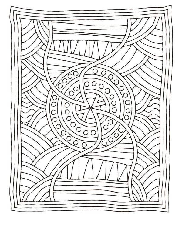 Best ideas about Mosaic Printable Coloring Pages . Save or Pin Free Flower Mosaic Colouring Pages Gianfreda Now.