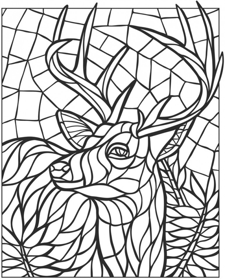 Best ideas about Mosaic Printable Coloring Pages . Save or Pin printable mosaic coloring pages Now.
