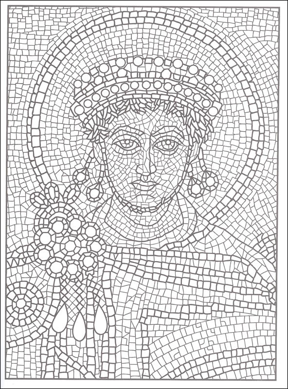 Best ideas about Mosaic Printable Coloring Pages . Save or Pin 30 Mosaic Coloring Pages ColoringStar Now.
