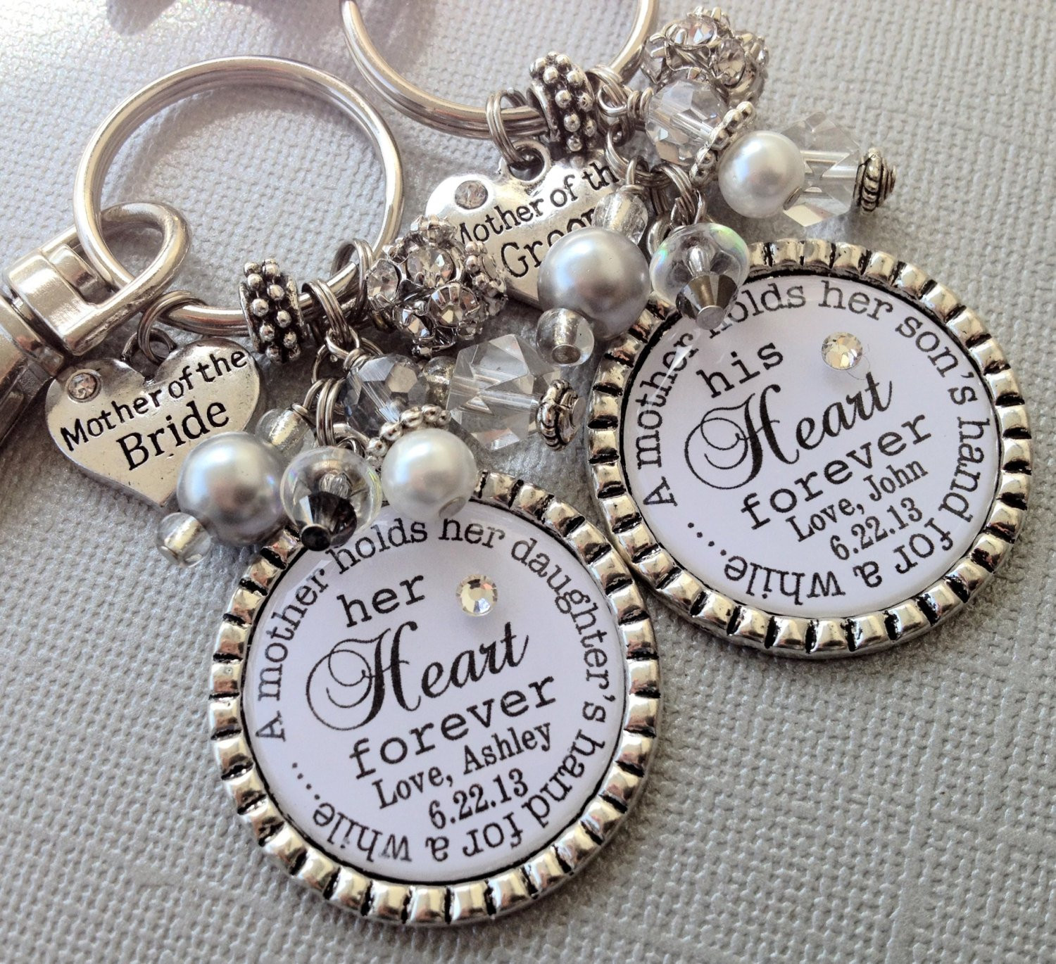 Best ideas about Mother Of Bride Gift Ideas . Save or Pin Mother of the BRIDE t MOTHER of the GROOM Set Now.