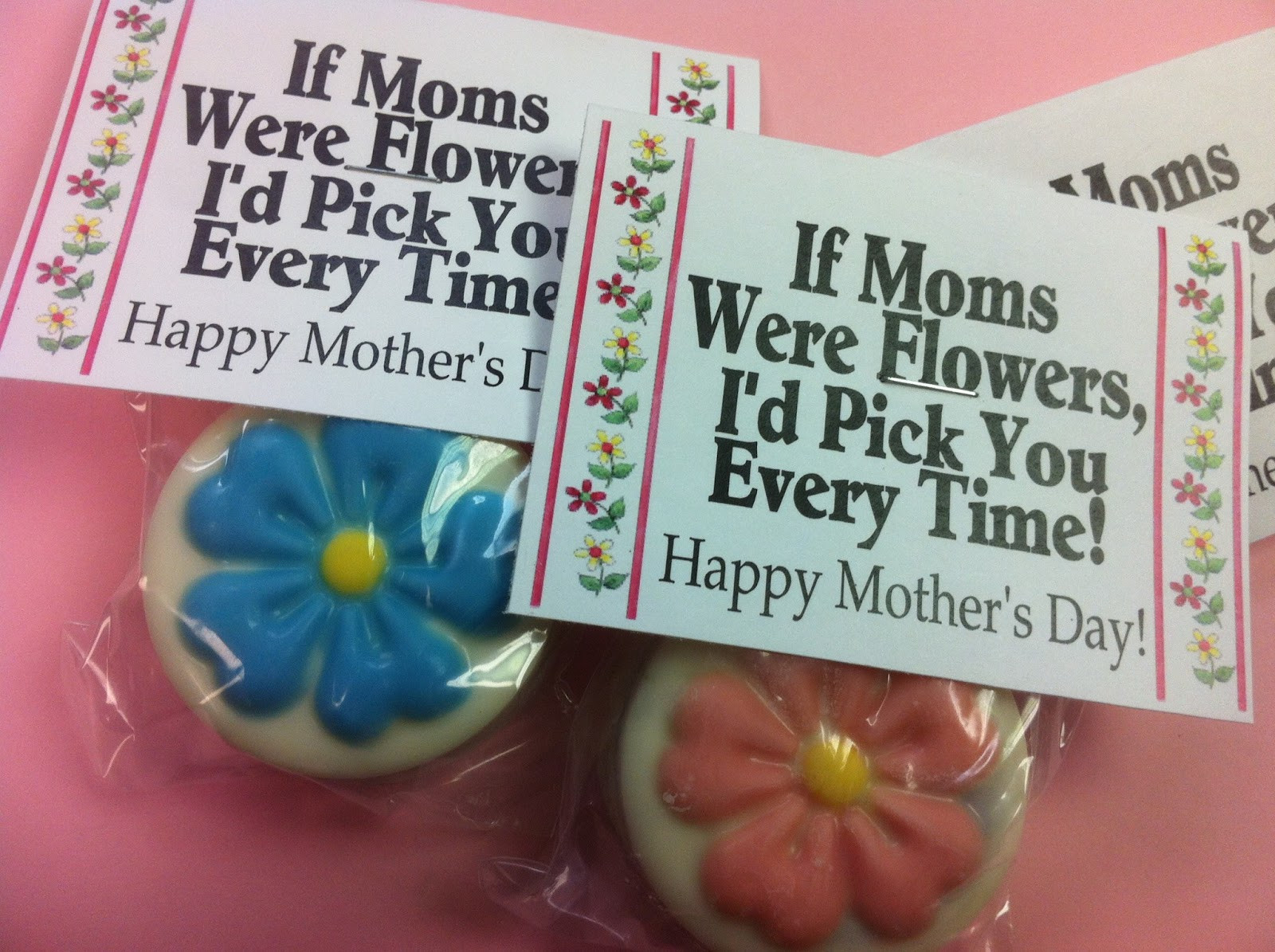 Best ideas about Mother'S Day Gift Ideas For Church . Save or Pin If Moms Were Flowers Candy Topper Printable Now.