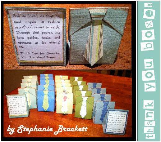 Best ideas about Mother'S Day Gift Ideas For Church Ladies . Save or Pin Thought these tie boxes would be cute to make for Father s Now.