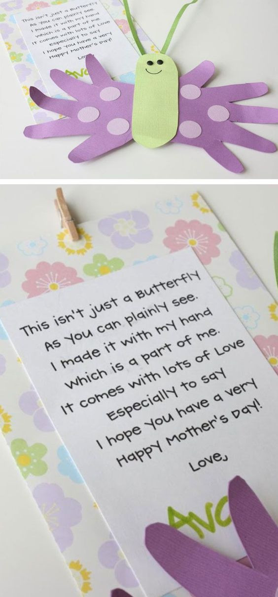 Best ideas about Mothers Day Craft Ideas For Kids . Save or Pin 30 Awesome DIY Mothers Day Crafts for Kids to Make Now.