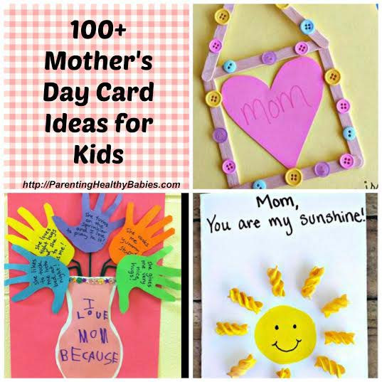 Best ideas about Mothers Day Craft Ideas For Kids . Save or Pin Mother s Day Card Ideas for Kids Now.