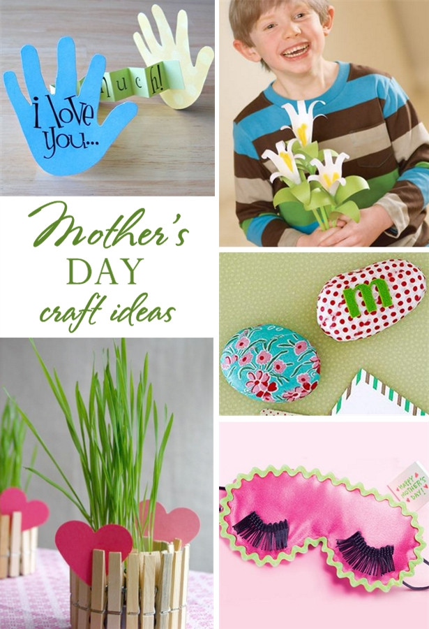 Best ideas about Mothers Day Craft Ideas For Kids . Save or Pin 5 Easy Mother s Day Kid Craft Ideas Now.