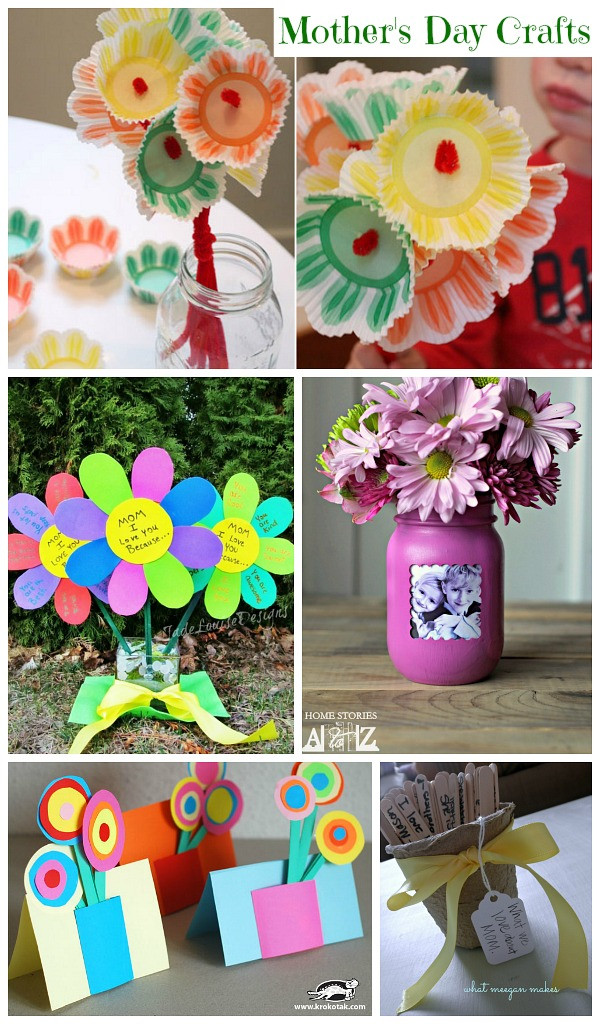 Best ideas about Mothers Day Craft Ideas For Kids . Save or Pin Mother s Day Craft Ideas Collection Moms & Munchkins Now.