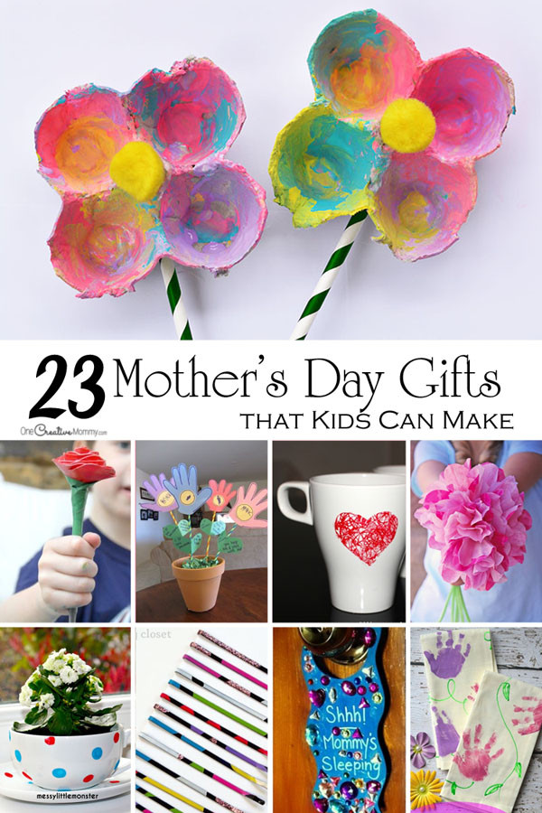 Best ideas about Mothers Day Craft Ideas For Kids . Save or Pin Mother s Day Crafts for Kids onecreativemommy Now.
