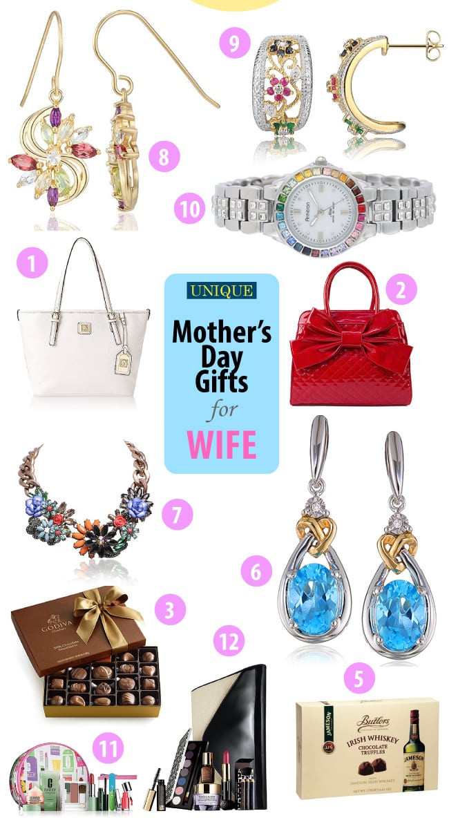 Best ideas about Mothers Day Gift Ideas For Wife . Save or Pin Unique Mother s Day Gift Ideas for Wife Vivid s Gift Ideas Now.