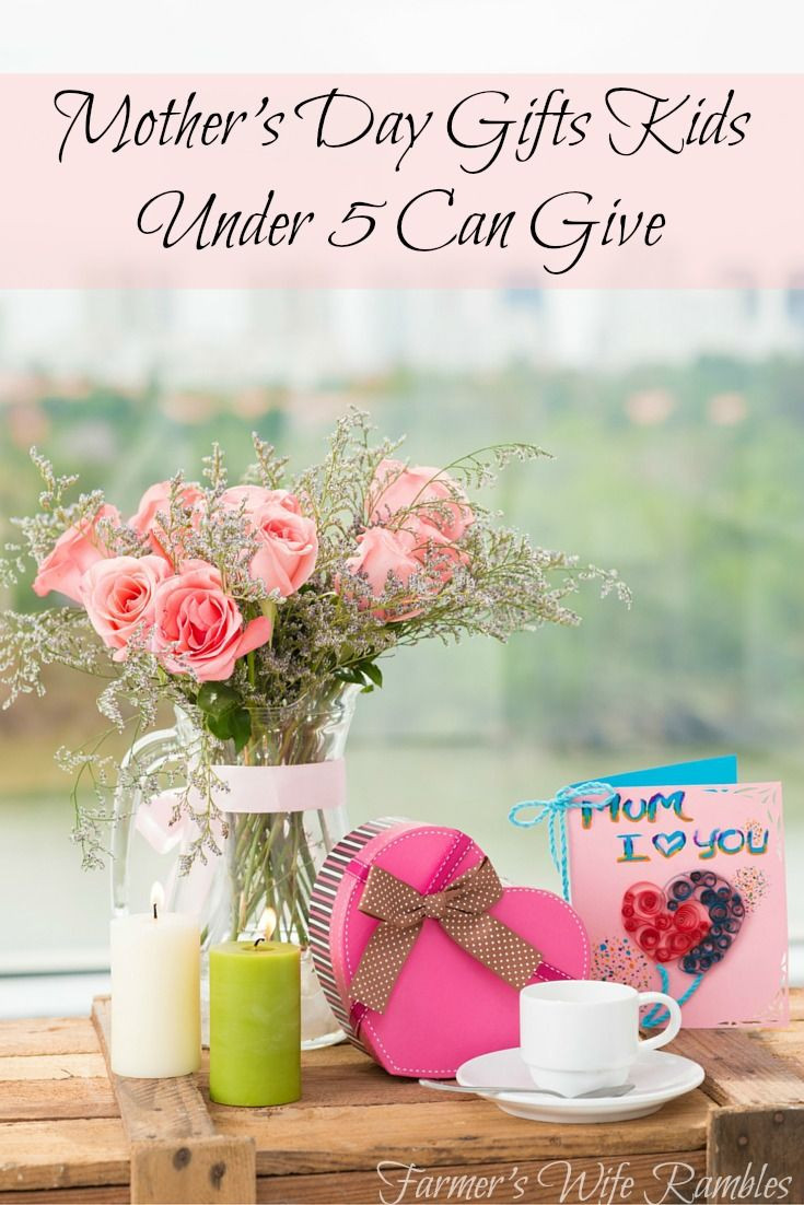 Best ideas about Mothers Day Gift Ideas For Wife . Save or Pin 10 Mother s Day Presents Kids Five And Under Can Give Now.