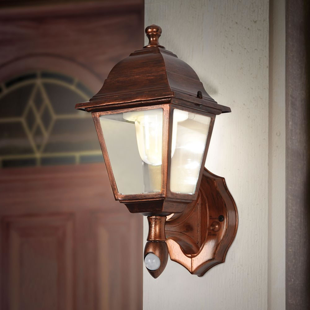 Best ideas about Motion Sensor Porch Light . Save or Pin The Cordless Motion Activated Porch Light Hammacher Now.