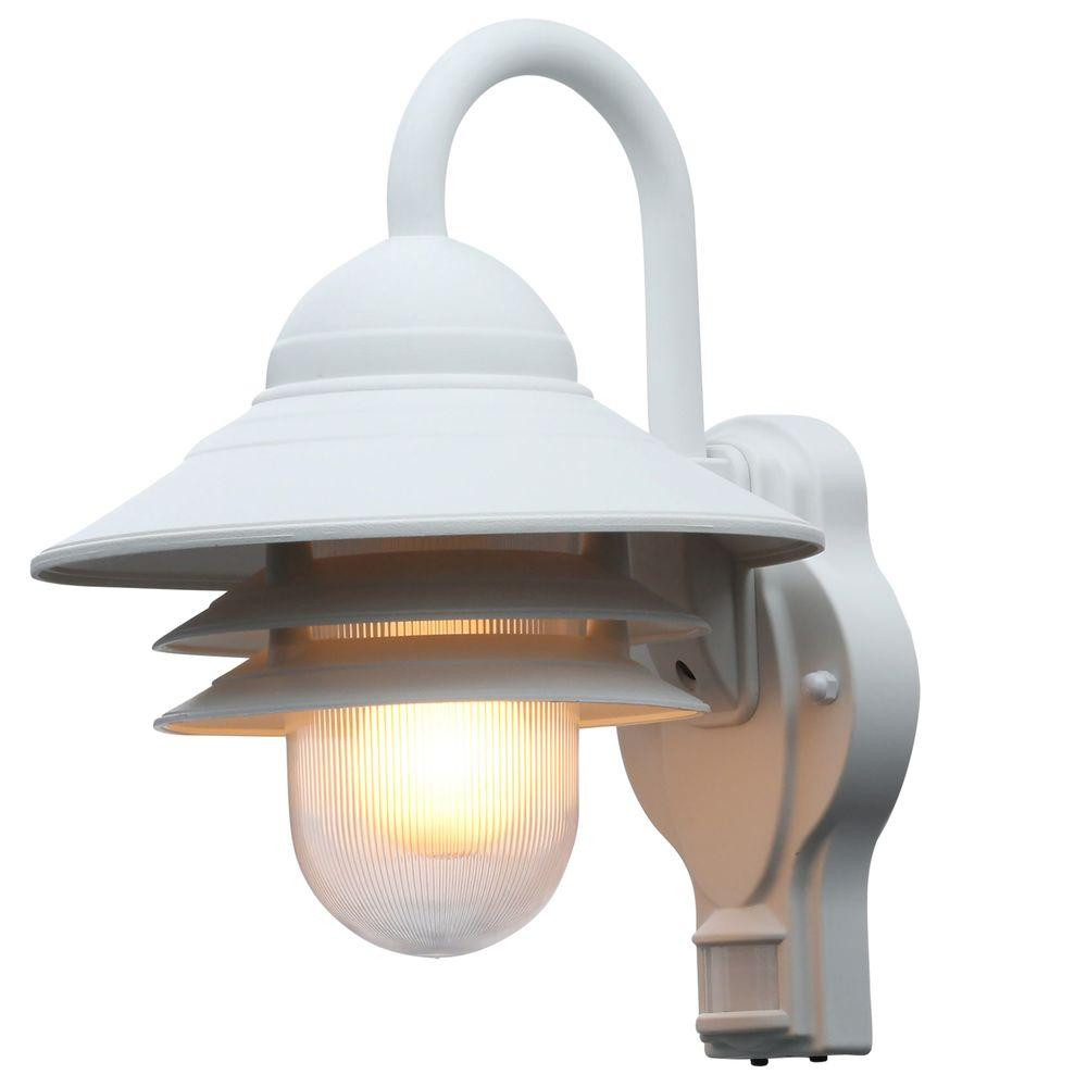 Best ideas about Motion Sensor Porch Light . Save or Pin Newport Coastal Marina 110 Degree Outdoor White Motion Now.