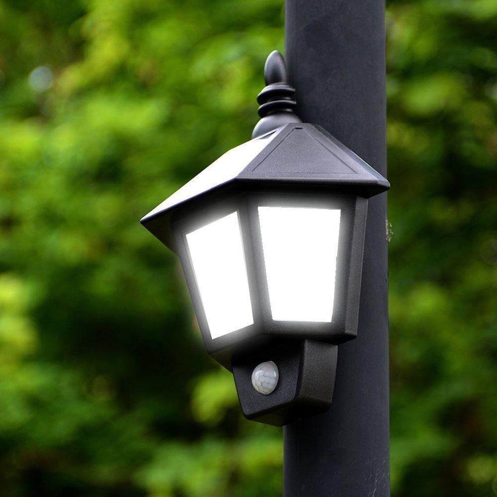 Best ideas about Motion Sensor Porch Light . Save or Pin Solar Power PIR Motion Sensor Wall Light Outdoor Porch Now.