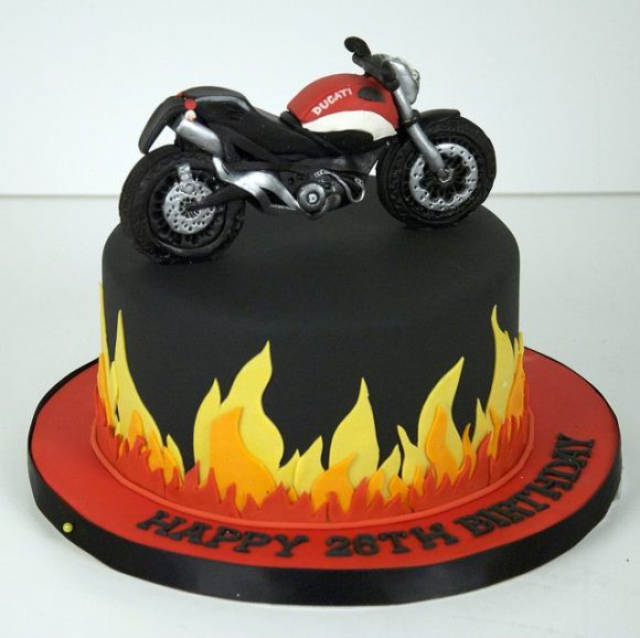 Best ideas about Motorcycle Birthday Cake . Save or Pin Free Happy Birthday Cake for Him Now.