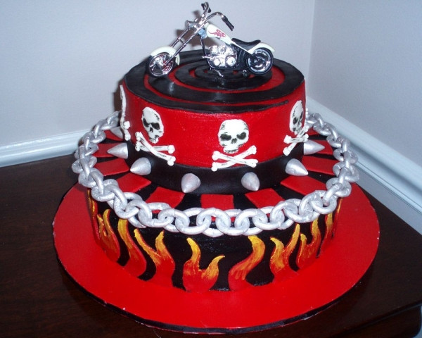 Best ideas about Motorcycle Birthday Cake . Save or Pin Ride a Motorcycle Through Your Cake Cutting Ceremony Now.