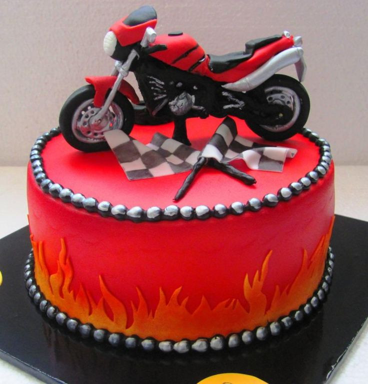Best ideas about Motorcycle Birthday Cake . Save or Pin 51 best images about Motorcycle Cakes on Pinterest Now.