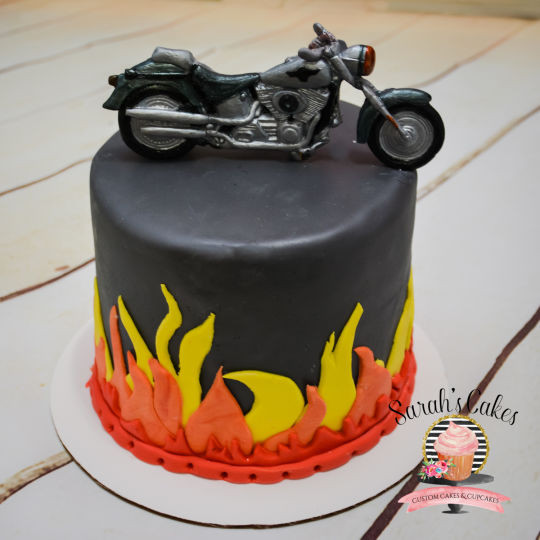 Best ideas about Motorcycle Birthday Cake . Save or Pin Motorcycle Birthday Cake cake by Sarah s Cakes CakesDecor Now.
