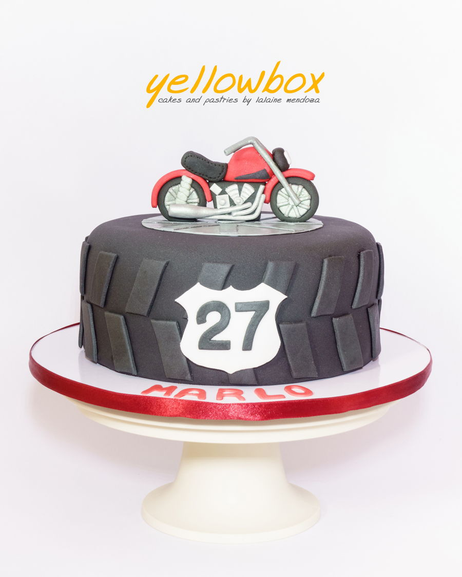 Best ideas about Motorcycle Birthday Cake . Save or Pin Motorcycle Cake CakeCentral Now.