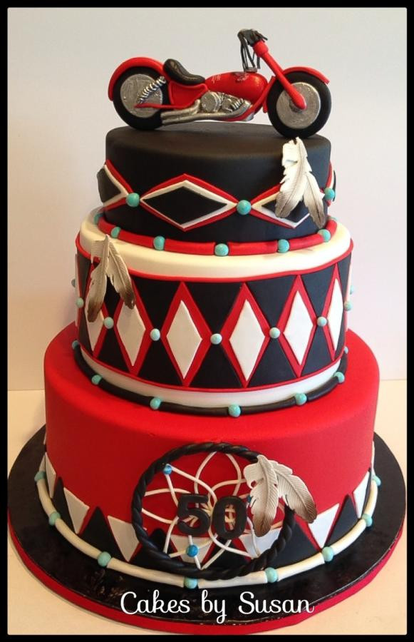 Best ideas about Motorcycle Birthday Cake . Save or Pin American Indian motorcycle cake cake by Skmaestas Now.