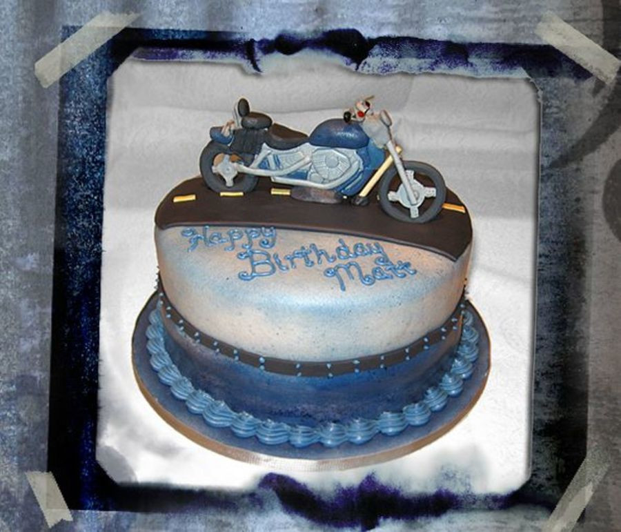 Best ideas about Motorcycle Birthday Cake . Save or Pin Honda Shadow Motorcycle Cake CakeCentral Now.