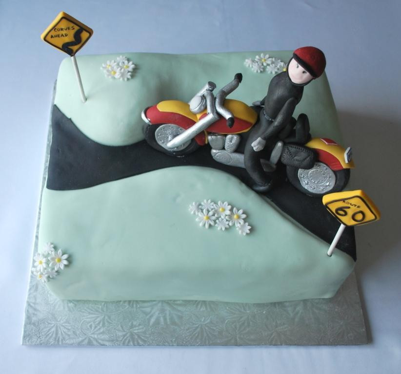 Best ideas about Motorcycle Birthday Cake . Save or Pin MOTORCYCLE 74 Motorcycle cake Now.