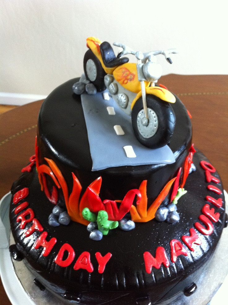 Best ideas about Motorcycle Birthday Cake . Save or Pin 17 Best images about motoros torták on Pinterest Now.