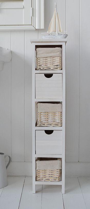 Best ideas about Narrow Bathroom Storage . Save or Pin 25 Best Ideas about Narrow Bathroom Cabinet on Pinterest Now.