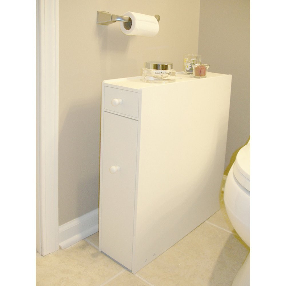 Best ideas about Narrow Bathroom Storage . Save or Pin 12 Awesome Bathroom Floor Cabinet with Doors Review Now.