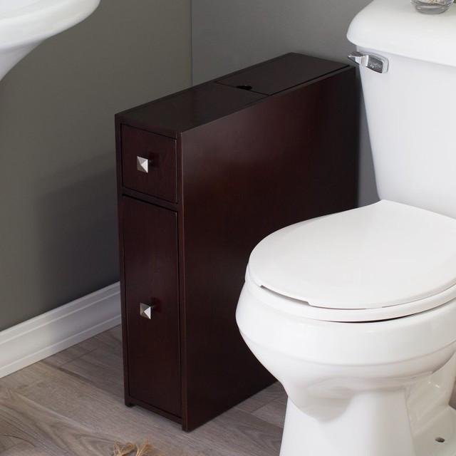 Best ideas about Narrow Bathroom Storage . Save or Pin 25 Creative Bathroom Storage Narrow Now.