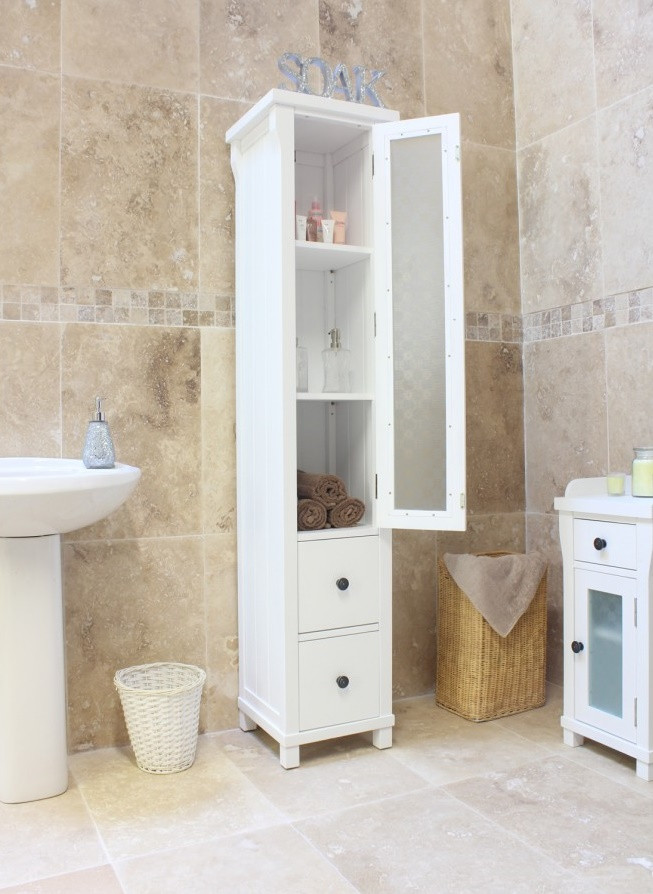 Best ideas about Narrow Bathroom Storage . Save or Pin Narrow Bathroom Cabinet as A Wonderful Storage in Your Now.