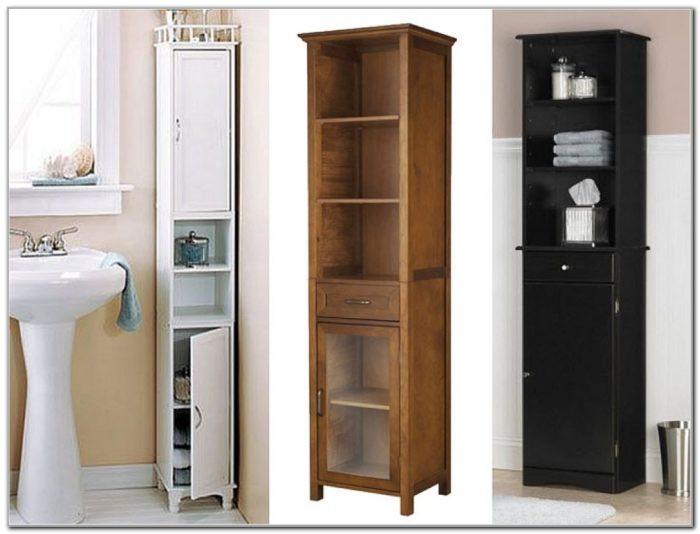 Best ideas about Narrow Bathroom Storage . Save or Pin Tall Narrow Bathroom Cabinet Uk Cabinet Home Now.