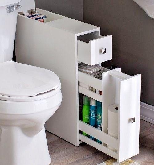 Best ideas about Narrow Bathroom Storage . Save or Pin Best 25 Narrow bathroom cabinet ideas on Pinterest Now.