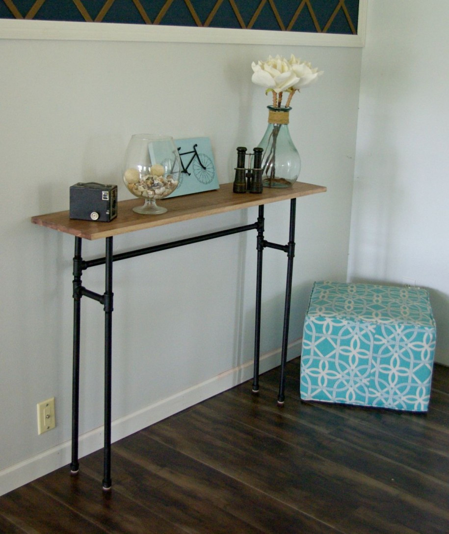 Best ideas about Narrow Entryway Table . Save or Pin Narrow Entryway Table Simple — Home Design Decorate Now.
