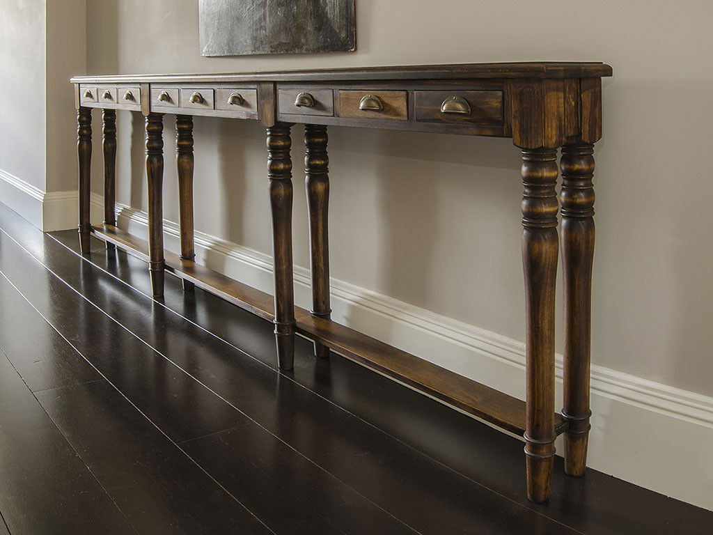 Best ideas about Narrow Entryway Table . Save or Pin Awesome Skinny Hallway Table — STABBEDINBACK Foyer Now.