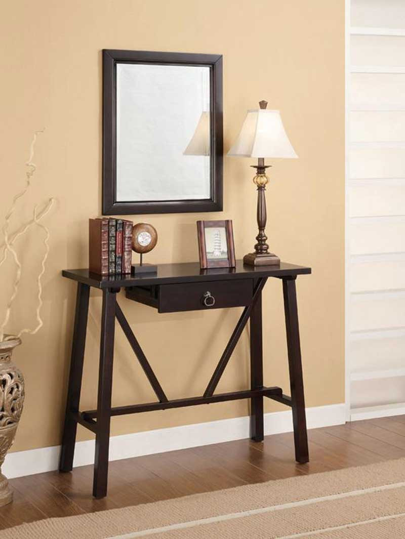 Best ideas about Narrow Entryway Table . Save or Pin Narrow Entryway Table Furniture — STABBEDINBACK Foyer Now.