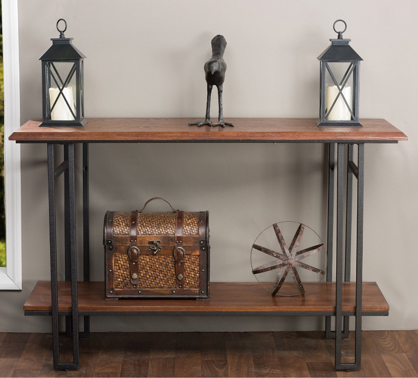 Best ideas about Narrow Entryway Table . Save or Pin Narrow Entryway Table Vintage — STABBEDINBACK Foyer Now.
