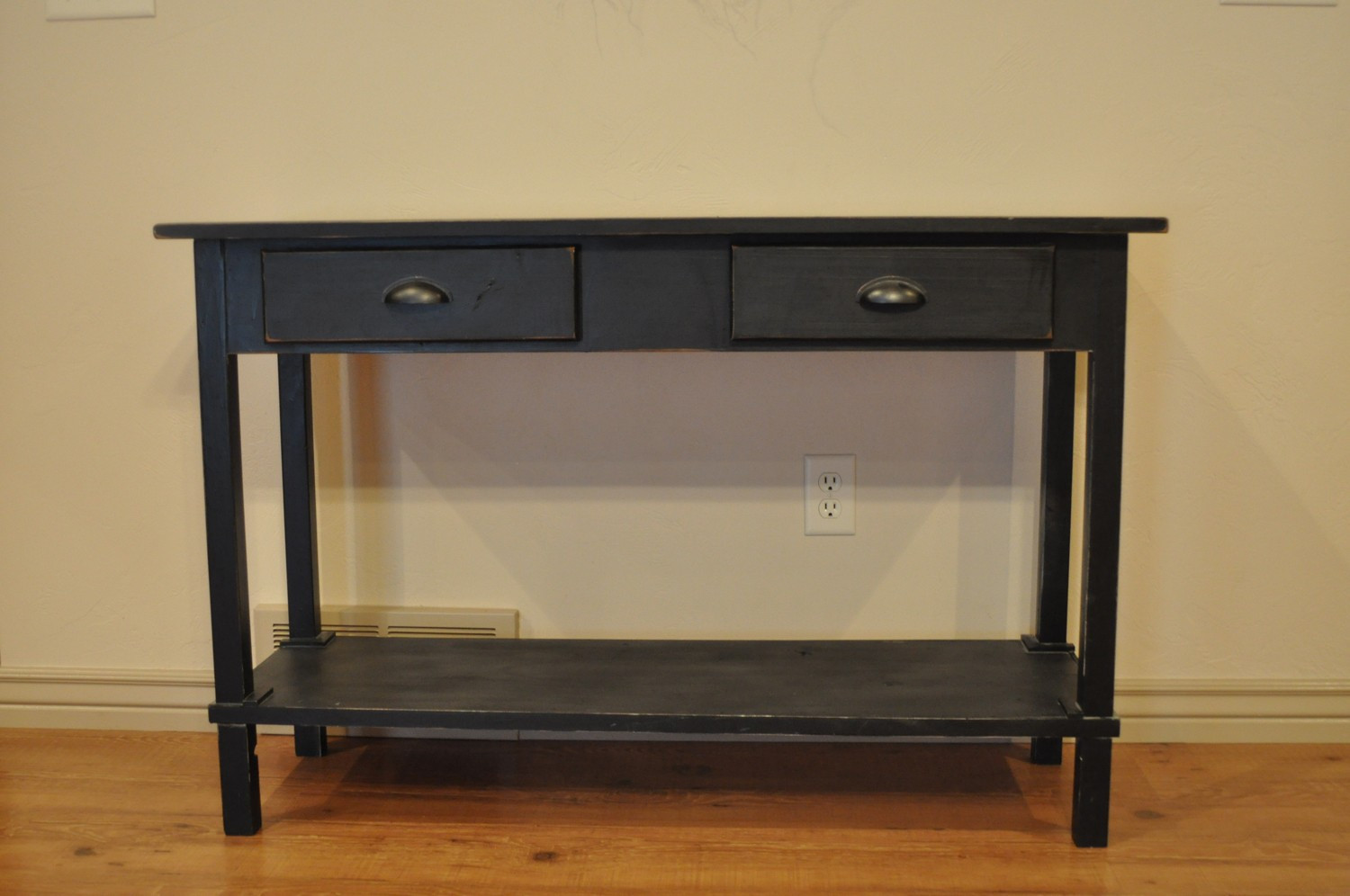 Best ideas about Narrow Entryway Table . Save or Pin Long Entryway Table Narrow — STABBEDINBACK Foyer Wooden Now.