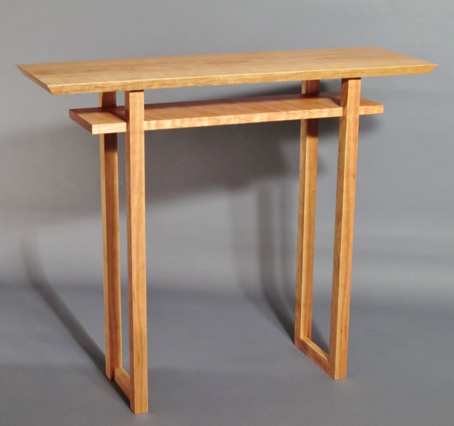 Best ideas about Narrow Entryway Table . Save or Pin Narrow Entryway Table Wooden — STABBEDINBACK Foyer Now.