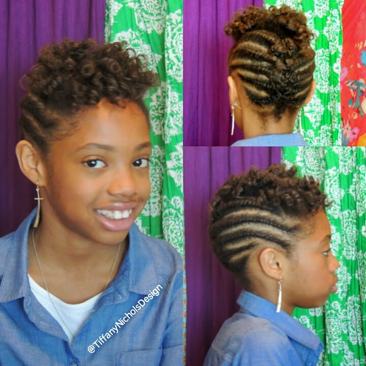 Best ideas about Natural Hairstyles For Kids . Save or Pin Natural Hairstyle for Kids Flat Twist and Roller Set Now.