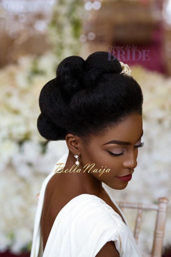 Best ideas about Natural Hairstyles For Weddings Black . Save or Pin Wedding Hairstyles for Black Women african american Now.