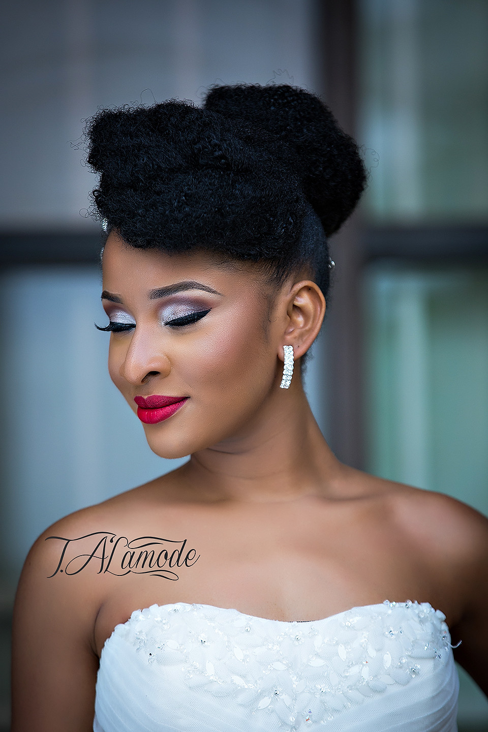 Best ideas about Natural Hairstyles For Weddings Black . Save or Pin Striking Natural Hair Looks for the 2015 Bride T Alamode Now.