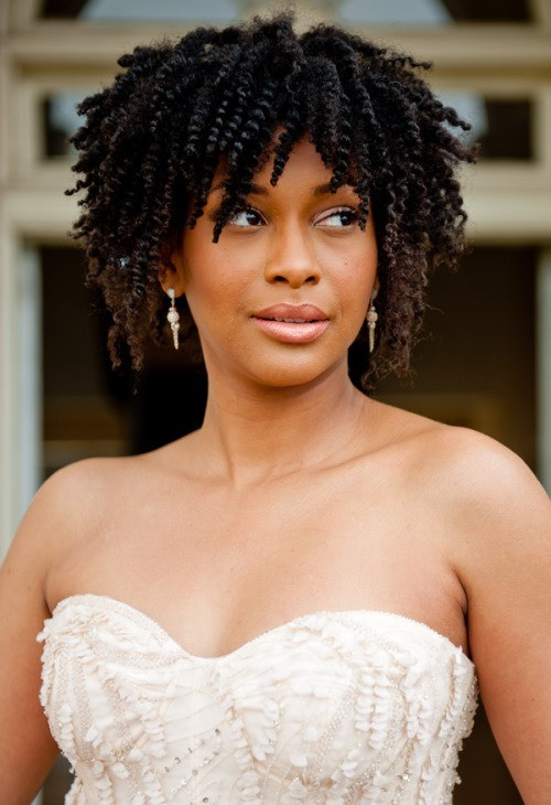 Best ideas about Natural Hairstyles For Weddings Black . Save or Pin Wedding Hairstyles For Black Women 20 Fabulous Wedding Now.