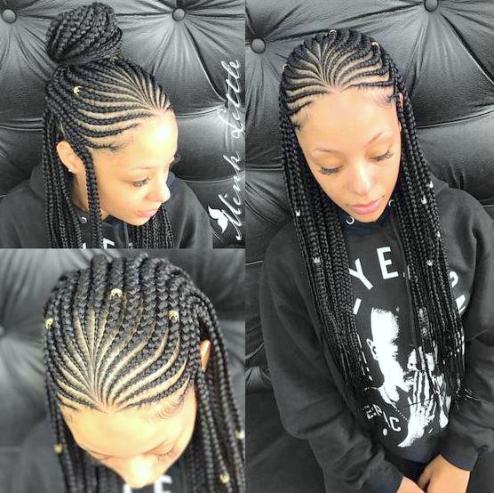 Best ideas about New Braid Hairstyles 2019 . Save or Pin Amazing Braided Hairstyles for Black Women 2018 2019 Now.