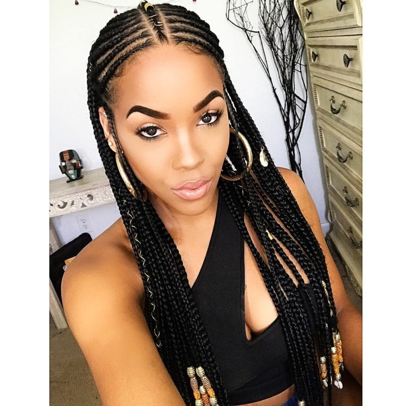 Best ideas about New Braid Hairstyles 2019 . Save or Pin 1 Braid Extensions Styles For Black Women 2019 Now.