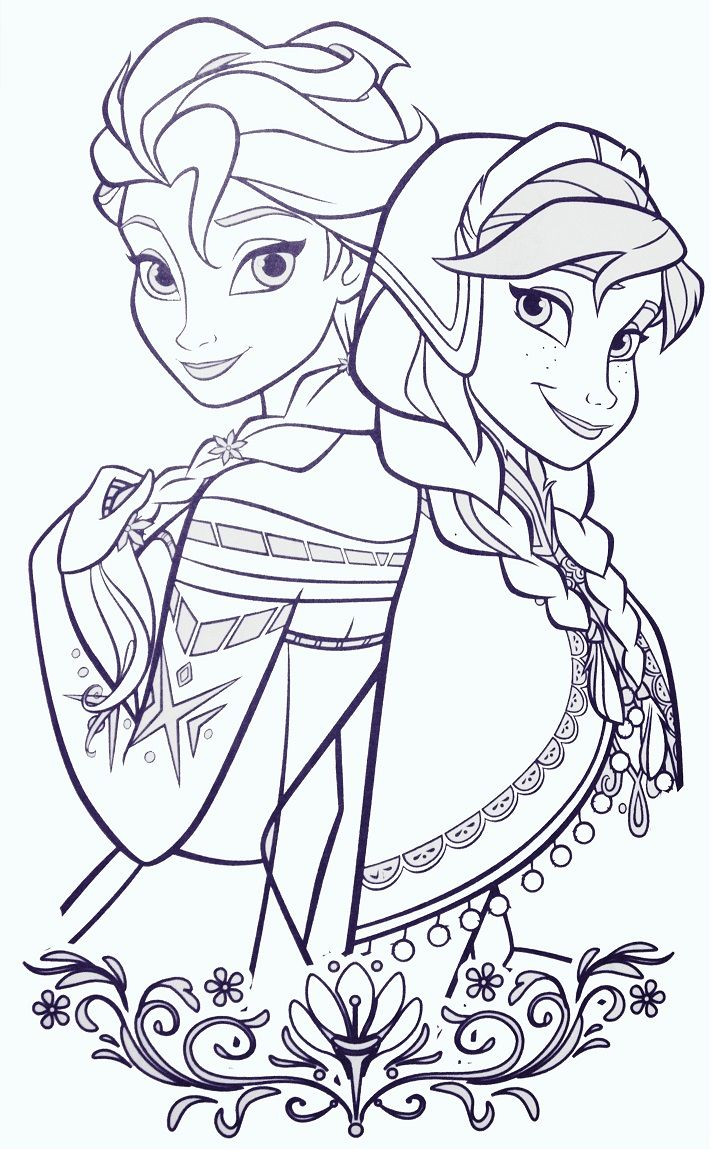 Best ideas about New Coloring Pages For Girls . Save or Pin Disney Frozen Coloring Pages for Girls Elsa Now.