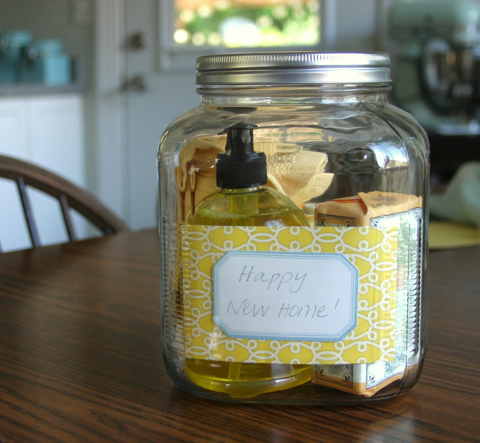 Best ideas about New Home Gift Ideas . Save or Pin make bake and love Happy New Home Gift Idea Now.