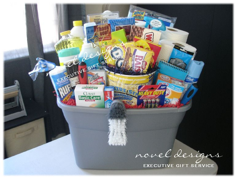 Best ideas about New Home Gift Ideas . Save or Pin t basket new home Now.