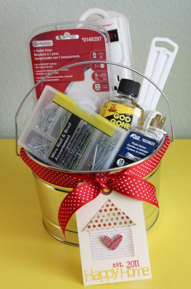 Best ideas about New Home Gift Ideas . Save or Pin Do it Yourself Gift Basket Ideas for Any and All Occasions Now.