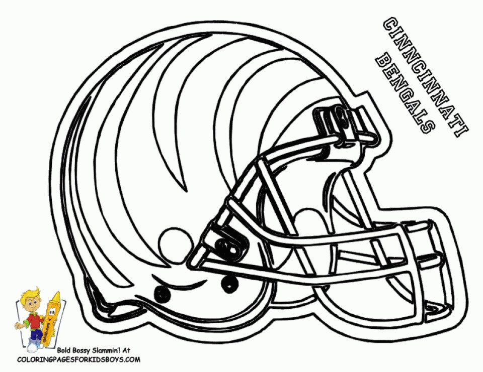 Best ideas about Nfl Coloring Book . Save or Pin Get This NFL Coloring Pages Helmets Now.