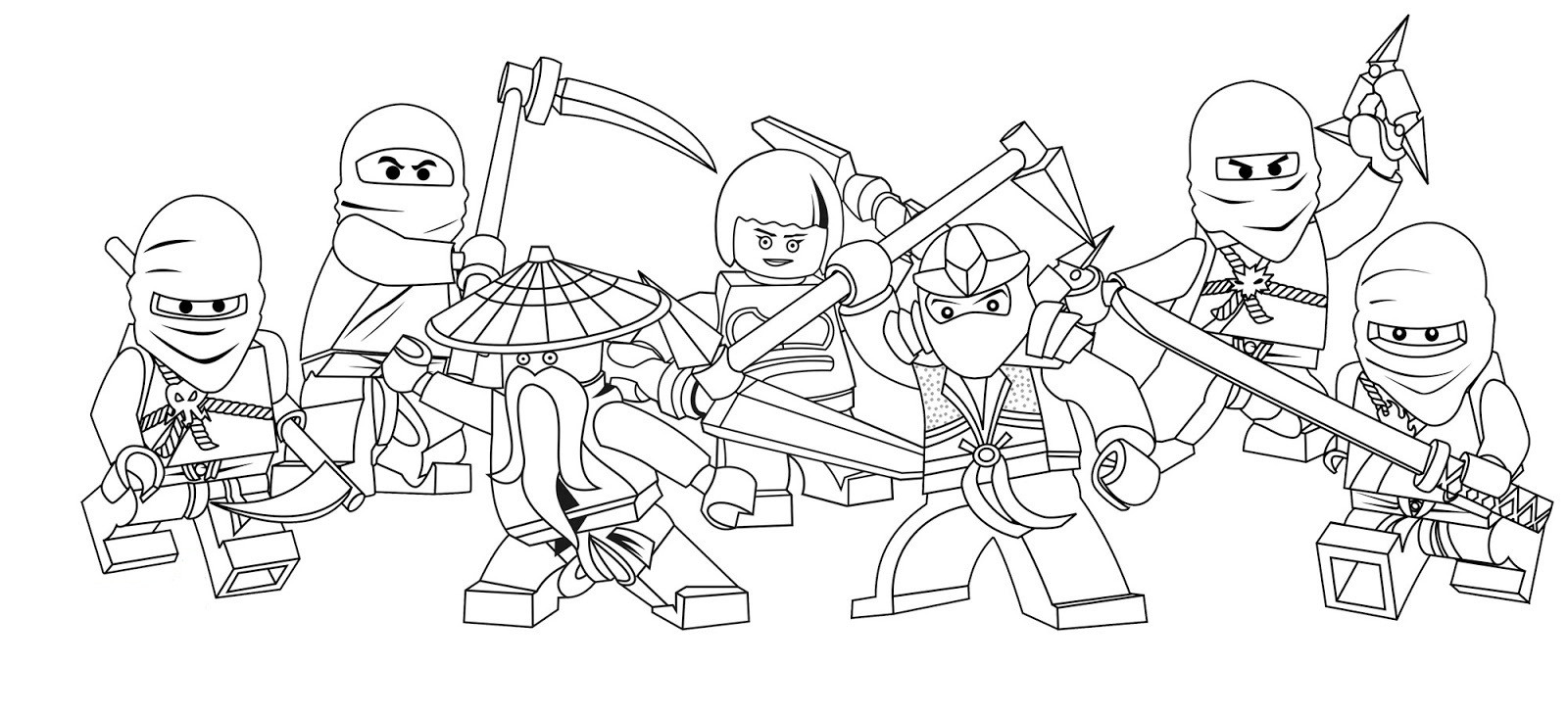 Best ideas about Ninjago Printable Coloring Sheets . Save or Pin Free Printable Ninjago Coloring Pages For Kids Now.