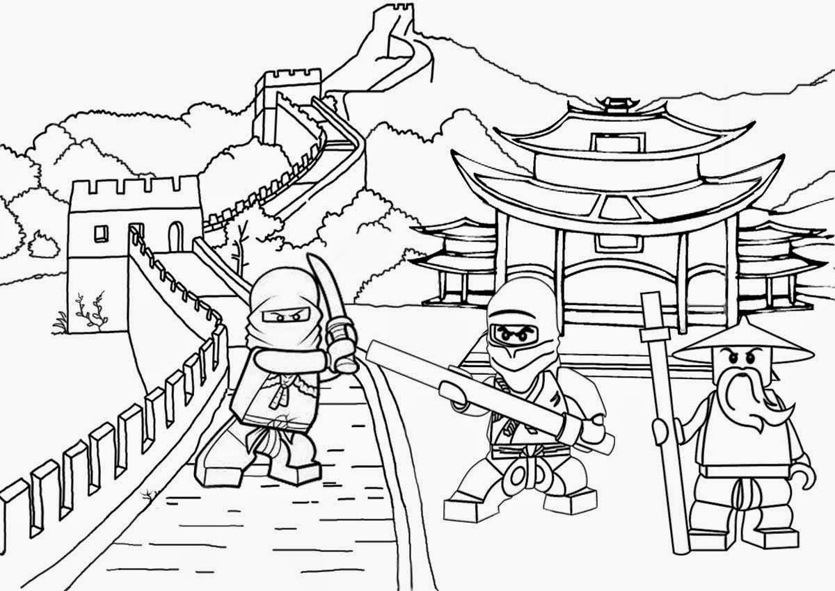 Best ideas about Ninjago Printable Coloring Sheets . Save or Pin Lego Ninjago Coloring Pages Best Coloring Pages For Kids Now.